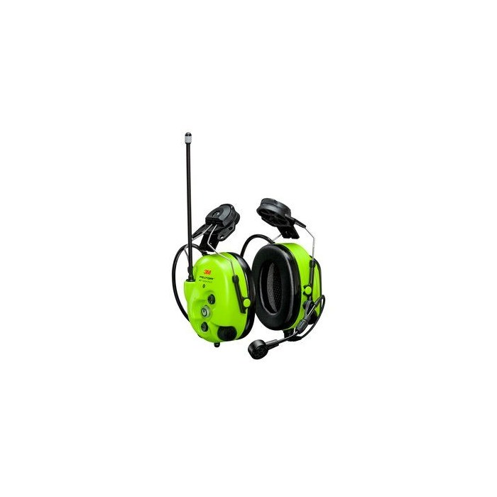 3M™ PELTOR™ WS™ LiteCom Pro III GB Headset, 32 dB, PMR446 MHz, analog/digital, Helmet fixing, MT73H7P3E4D10EU GB