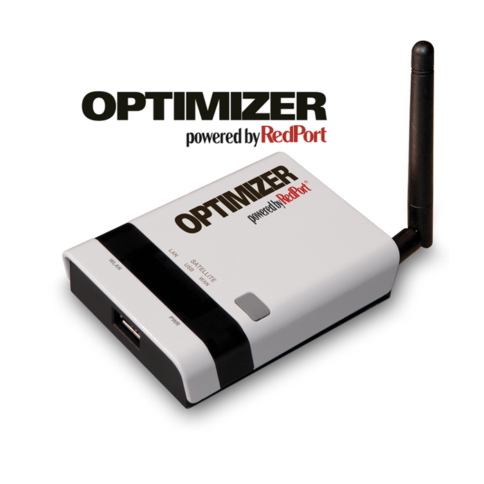 Optimizer satellite wifi hotspot