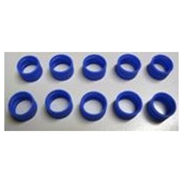 Antenna ID Band, 10 pk (Blue)