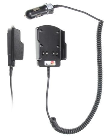 VEHICLE CHARGER WITH LIGHTER CONTACT