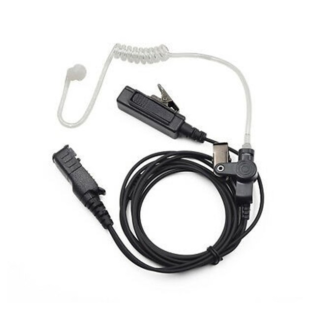 2 wire kit w/ combined PTT / Mic