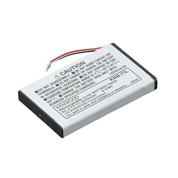 Kenwood KNB-71L Li-ion Battery 1430 mAH for PKT-23E