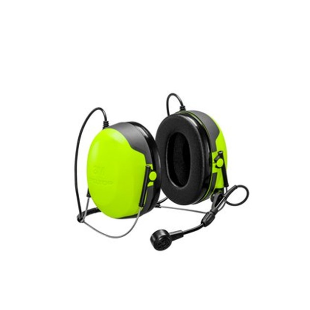 3M™ PELTOR™ Headset CH-3 FLX2 with Built-In PTT, Neckband (Cable must be ordered separately.)