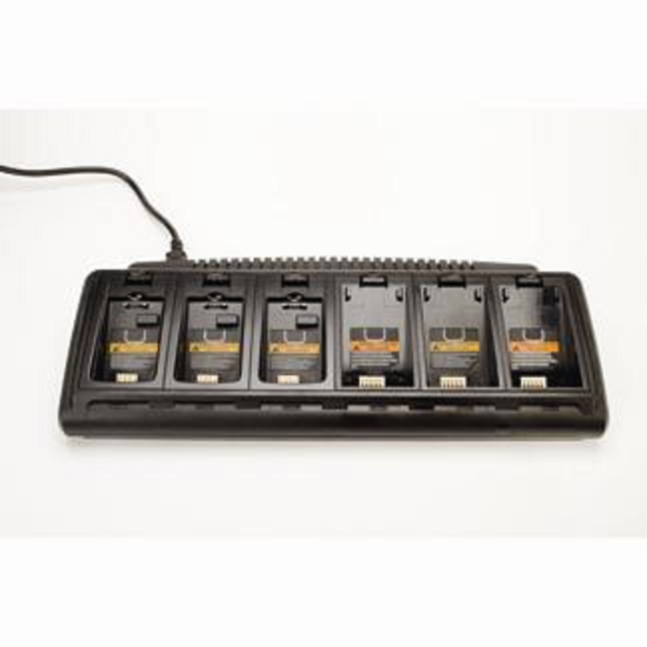 Charger, 6-bay for batteries