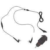 1.15 DIO ACCESSORY-EARPIECE,BLACK OVERT AUDIO KIT FOR FAST PTT