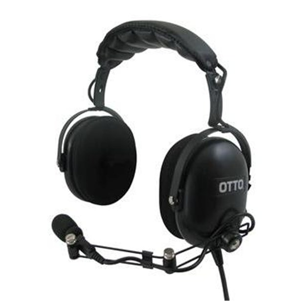 HEAVY DUTY HEADSET, OVER-THE-HEAD W / IN-LINE PTT