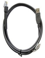 Programming cable,l, front, USB connector