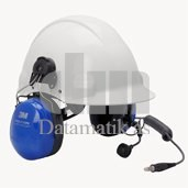 TWIN CUP HARDHAT MT HDSET, ATEX