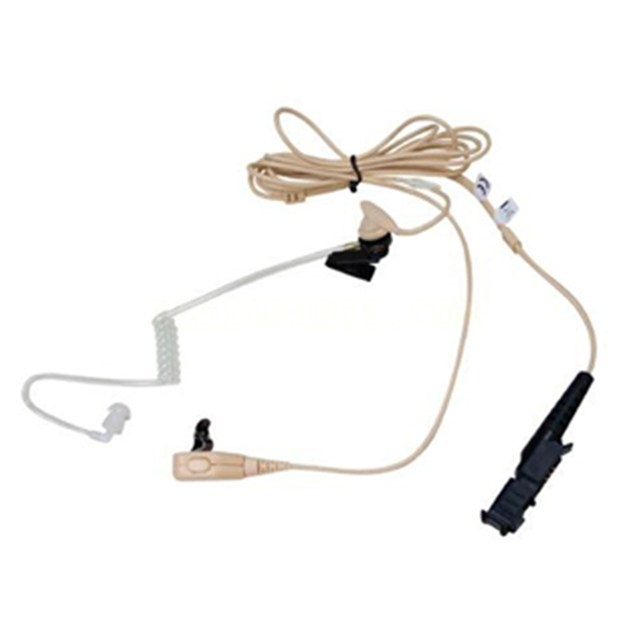 2-WIRE SURVEILLANCE KIT W/QUICK DISCONNECT CLEAR ACOUSTIC TUBE,BEIGE