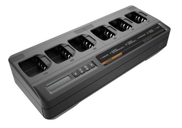 IMPRES 6-Way Multi-Unit Charger with Euro cord