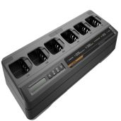 Impres 6-Way Multi-Unit Charger with Euro cord for radio or battery