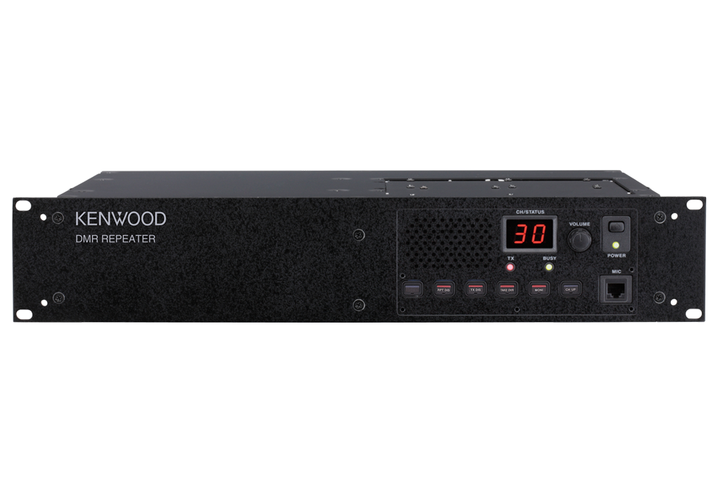 Kenwood TKR-D810E DMR/Analogue UHF Repeater 400-470 MHz 40W