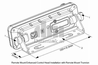 ENH CONTROL HEAD TRUNNION KIT